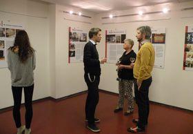 Ausstellung im Tschechischen Rundfunk (Foto: Zdeňka Kuchyňová)