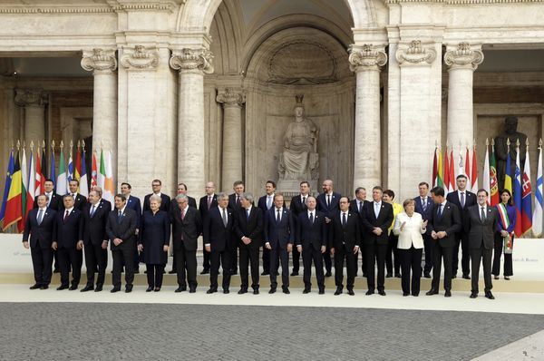 European leaders at the summit in Rome, photo: CTK