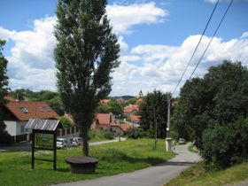 Le village de Hrusice, photo: Denisa Tomanová