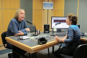 Яромир Ногавица и Лорета Вашкова, Фото: Кристина Макова, Чешское радио - Радио Прага