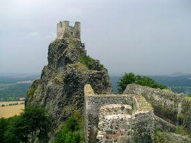 El castillo de Trosky, foto: Magdalena Kašubová