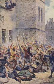 Pražská defenestrace vroce 1419, foto: Public Domain