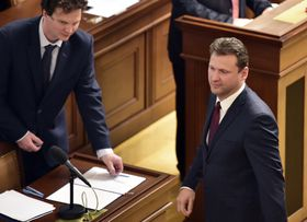 Radek Vondráček (rechts). Foto: ČTK