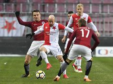 Sparta-Slavia, photo: ČTK