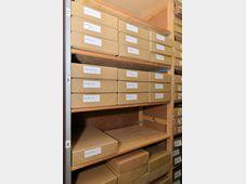 Mitrokhin Archive at the Churchill Archive Centre in Cambridge, photo: CTK