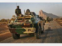 Des unités maliennes, photo: CTK