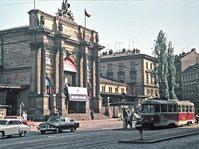 Prager Bahnhof Těšnov (Foto: Oldřich Janovský, Archiv des Prager Stadtmuseums)