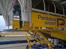 Pardubice airport, photo: Jitka Slezáková