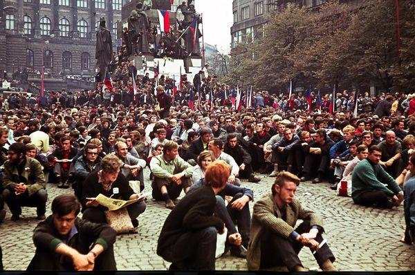 August 1968, photo: Leszek Sawicki