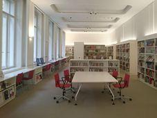Bibliothek des Prager Goethe-Instituts (Foto: Till Eichenauer)