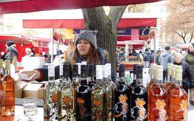 Рынок в день Св. Мартина, Фото: Лорета Вашкова