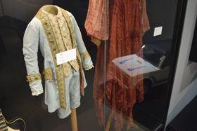 Una vestimenta de la película Amadeus, foto: Ondřej Tomšů