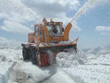 Schneefräse - sněžná fréza (Foto: Benj05, CC BY-SA 3.0)