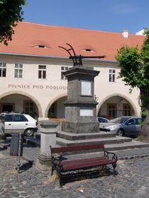 Hans-Kudlich-Denkmal in Úštěk/Auscha (Foto: Archiv des Tschechischen Rundfunks - Radio Prag)