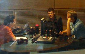 Charlie Straight en Radio Praga, foto: archivo de Radio Praga