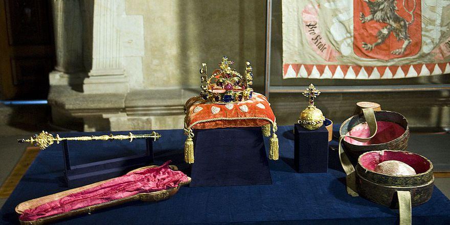 Czech crown jewels, photo: Filip Jandourek