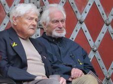 Jiří Brady (a la izquierda), foto: ČTK