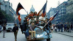 1968, Prague, photo: Czech Television