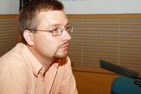 Jan Mrkvička, photo: Šárka Ševčíková, ČRo
