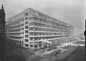 El Palacio de las Ferias en los años 20 del siglo pasado, foto: presentación oficial de la Galería Nacional