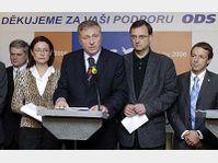 Le Parti civique démocrate (ODS), photo: CTK