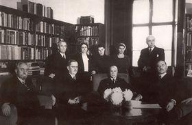 Tomáš Garrigue Masaryk oznamuje svou abdikaci, foto: archiv Univerzity Karlovy