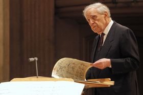 Pierre Boulez, photo: Thomas Bartilla / IFP