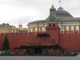 Мавзолей Ленина, арх. Алексей Щусев, фото: Shebs CC BY-SA 3.0