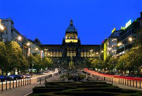 National Museum at the top of Wenceslas Square, photo: © City of Prague
