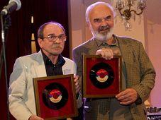 Jaroslav Uhlíř a Zdeněk Svěrák, foto: Milan Mošna, Český rozhlas