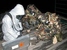 Régiment tchéco-slovaque de décontamination chimique (Photo: CTK)