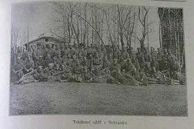 Чехословацкие легионеры в Бобруйске, Фото из книги: «За свободу» (Za svobodu, II. díl)