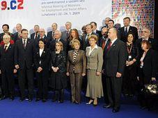 Ministertrefen in Luhačovice (Foto: ČTK)