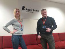 Алина и Александр, фото: Чешское радио - Радио Прага