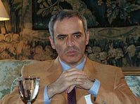 Garry Kasparov, photo: Christian Rühmkorf