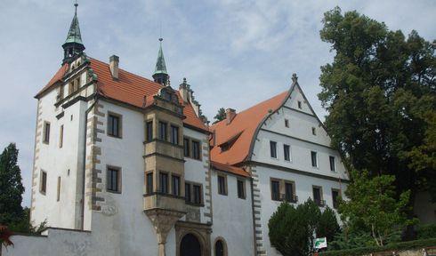 Нижний замок Бенешова-над-Плоучници, фото: Станислава Брадлова