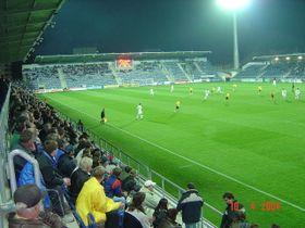 Le stade de FC Slovácko, photo: Sundance Kid, CC BY-SA 2.0 Germany