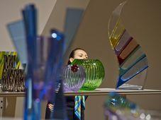 Выставка изделий «Moser», Фото: ЧТК