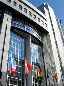 Europäisches Parlament in Brüssel (Foto: Pavel Novák, Archiv des Tschechischen Rundfunks)