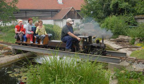 Малая железная дорога Скалско, Фото: Эва Туречкова, Чешское радио - Радио Прага