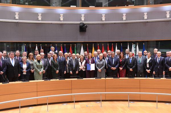 Министры обороны 23 стран Европейского союза в Брюсселе, Фото: ЧТК