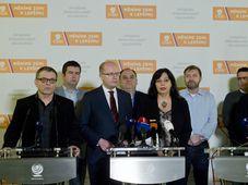 Parteitag der tschechischen Sozialdemokratischen Partei (Foto: ČTK)