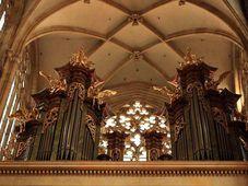 L'orgue de la cathédrale Saint-Guy au Château de Prague, photo: Barbora Němcová