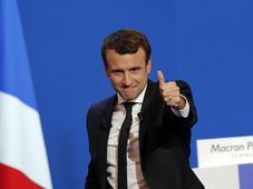 Emmanuel Macron, photo: CTK