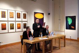 Jean-Gaspard Páleníček et Xavier Galmiche (à droite), photo: Site officiel du Centre tchèque de Paris