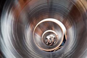 Трубы Северного Потока -2 до обработки антикоррозийными покрытиями, фото: Harald Hoyer, CC BY-SA 2.0