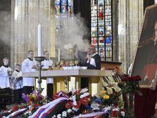 Trauergottesdienst im Prager Veitsdom (Foto: ČTK)