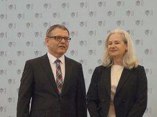 Anna de Almeida y Lubomír Zaorálek, Gratias agit 2016, foto: Miloš Turek