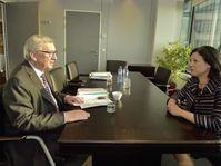 Jean-Claude Juncker et Věra Jourová, photo: ČTK