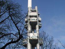 The Žižkov TV tower in Prague